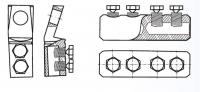 соединитель болтовой (4 болта) (70-120)