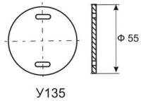 бирка маркировочная у135