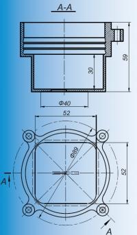 коробка установочная л250